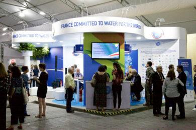 stand PFE au forum mondial de l'eau