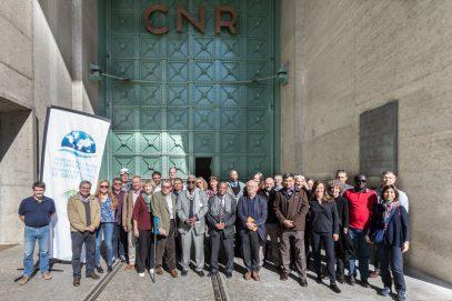 membres d'IAGF ; visite du barrage-centrale de Génissiat