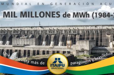 Record de production Itaipu 2017