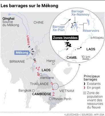 carte_barragemekong_lesechos_AFP