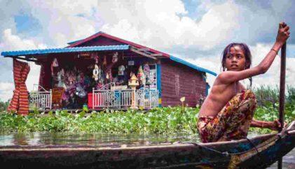 Franck Vogel - le Mékong au Cambodge