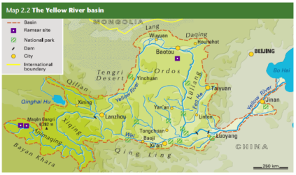 yellow river basin map2