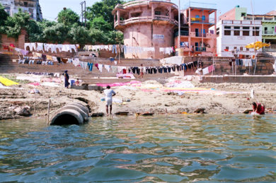 Drainage-in-Ganga-at-Varanasi