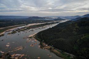 Nouveau barrage sur le Mekong