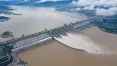 Barrage des trois gorges _ source FR24 news